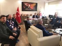 MEHMET AKTAŞ - Ayvalık AK Parti'den Başsavcı Tokel'e Nezaket Ziyareti