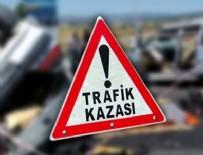KÖPRÜLÜ - Basın Ekspres Yolu'nda zincirleme trafik kazası: 2 yaralı