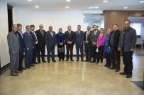 GENÇLİK MERKEZİ - Başkan Çelik, AK Parti İncesu Ve Sarız Heyetiyle Görüştü