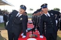 TÜRK POLİS TEŞKİLATI - Başkan Özakcan, Polislerin Mezuniyet Heyecanına Ortak Oldu
