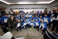 MEHMET BAYıNDıR - Başkan Özaltun, Beşiktaşlı Taraftarlarla Buluştu