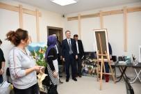 ŞAHIT - Başkan Taban İNESMEK Kursiyerleriyle Bir Araya Geldi