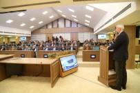 KAYAK MERKEZİ - Başkan Yılmaz'dan 'Ortak Akıl' Toplantısı