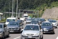 ARAÇ SAYISI - Düzce'de Araç Sayısı 100 Bini Geçti
