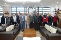 ESKIŞEHIRSPOR - Efeler Başkan Kurt'u Ziyaret Etti