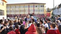 YENIKÖY - Eğitimin Kenti Başiskele'nin Yeni Okulları Yükseliyor