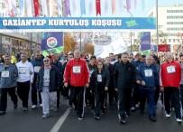 ALİ FUAT CEBESOY - Gaziantep'te 19 Bin TL Para Ödüllü 'Kurtuluş' Koşusu