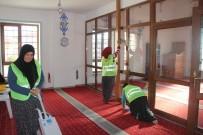 KITAPLıK - İncesu'da Cami Temizliği Çalışmaları Devam Ediyor