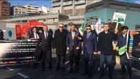 AYRIMCILIK - İstanbul Kongre Merkezi Önünde 'Kudüs' Eylemi
