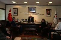 OSMAN ZOLAN - Kent Konseyi Meclisleri Zolan'ı Ziyaret Etti