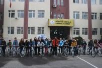 BİSİKLET TURU - Mülteci Öğrencilerle Birlikte Bisiklet Sürdüler