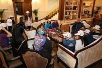 KATARAKT - Öğrenciler, Başkan Remzi Aydın'a Projelerini Anlattı