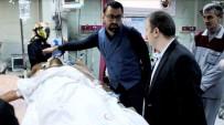 HARRAN ÜNIVERSITESI - PYD'den Sınırdaki İşçilere Silahlı Saldırı Açıklaması 1 Yaralı