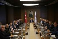 KULÜPLER BİRLİĞİ - Spor Bakanı Bak,  TFF 1.Lig Kulüp Başkanları Kabul Etti.