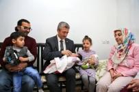 BEBEK BAKIMI - Tahmazoğlu 80 Bin´İnci Bebeği Ziyaret Etti