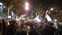 TRUMP - Tel Aviv'de ABD Büyükelçiliği Önünde Protesto