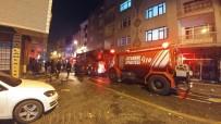 Zeytinburnu'nda Korkutan İş Yeri Yangını