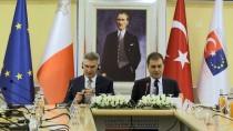BAŞMÜZAKERECI - AB Bakanı Çelik, Malta Dışişleri Bakanı İle Bir Araya Geldi
