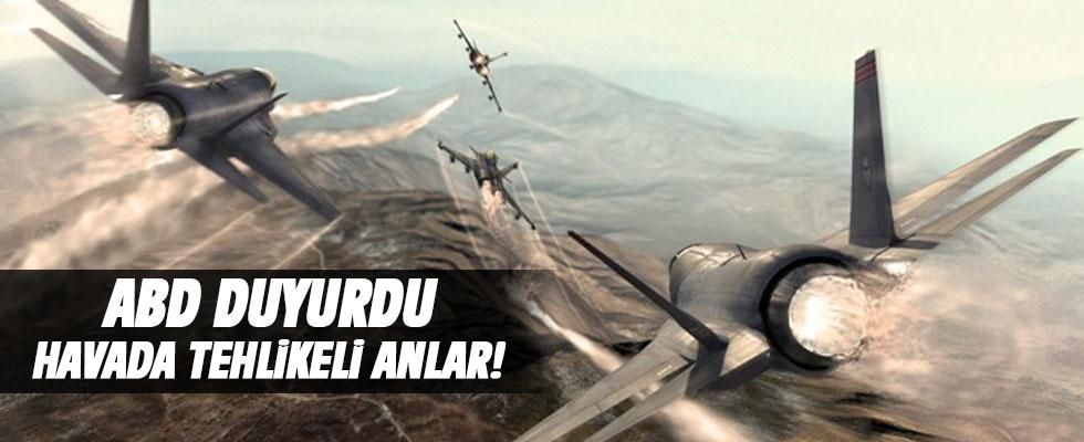 Pentagon duyurdu: ABD ve Rus savaş uçakları...