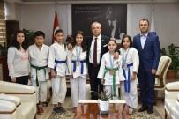 BENGÜ - Başkan Kayda, Başarılı Judocuları Ödüllendirdi
