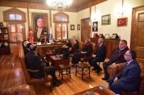 İNSAN HAKLARı GÜNÜ - Başkan Yağcı'ya Valilik İnsan Hakları Kurulu Üyelerinden Ziyaret