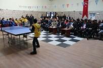 ŞEHİT ÜSTEĞMEN - Çaldıran'da 'Şehit Mehmet Sakallı Tenis Turnuvası' Sona Erdi