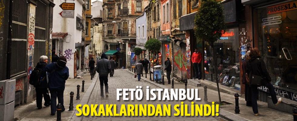 FETÖ İstanbul sokaklarından silindi