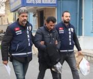 KİMYASAL MADDE - Güvenlik Görevlisi Kadının Yüzüne Kimyasal Madde Döken Saldırgan Tutuklandı