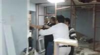 DEVLET HASTANESİ - Hastane Odasını Kırıp Dökerek Cihazlarını Götürdüler