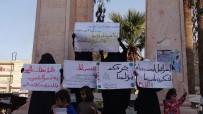 SIYONIST  - İdlibli Kadınlardan Trump'ın Kudüs Kararına Protesto