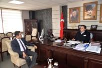 DEVLET HASTANESİ - İl Sağlık Müdürü Ve Bozüyük Devlet Hastanesi Başhekimi Başkan Bakıcı'yı Ziyaret Etti