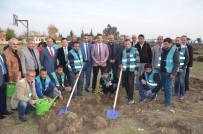 ORMAN İŞLETME MÜDÜRÜ - Kozan'da 500 Fidan Toprakla Buluştu