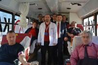BRONZ MADALYA - Milli Eğitim Personelinden Kan Bağışı
