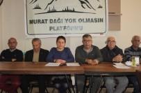 Murat Dağı Platformu; 'Suyumuza Ve Toprağımıza Sahip Çıkıyoruz'