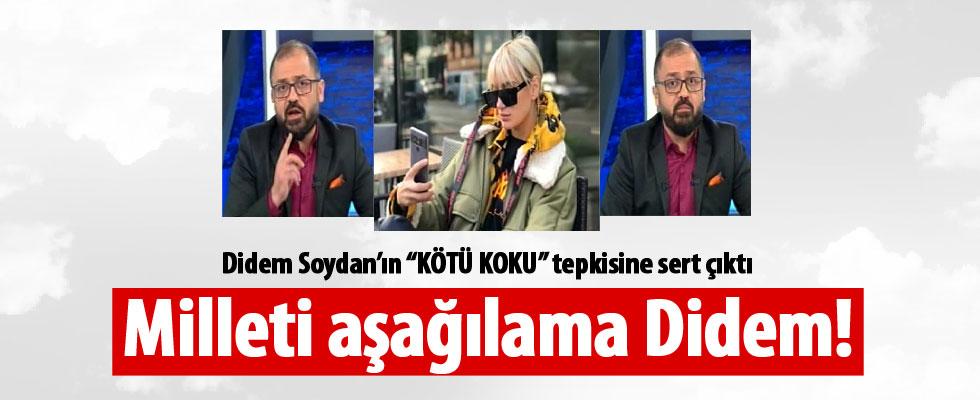 Ömür Varol'dan Didem Soydan'a tepki