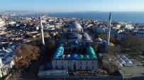 MİMAR SİNAN - Restorasyonu Süren Beyazıt Camii'nin Son Durumu Havadan Görüntülendi