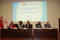 KADIN İSTİHDAMI - Rektör Çakar, Kadınların Mesleki Eğitimi Ve Kadın İstihdamı Sempozyumuna Oturum Başkanlığı Yaptı