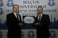 İBRAHIM HALıCı - Sayıştay Başkanı Baş, Selçuk Üniversitesinde