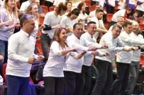 NİYAZİ NEFİ KARA - Spor Toplantısına Spor Yaparak Başladılar