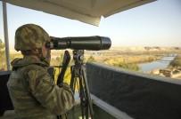 SINIR KARAKOLU - Suriye sınırı son teknoloji ile gözleniyor