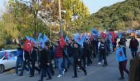 TOPLU SÖZLEŞME GÖRÜŞMELERİ - Türk Metal'den Yürüyüş Eylemi