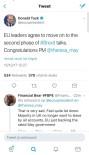 DONALD TUSK - AB Konseyi Başkanı Tusk Açıklaması 'AB Liderleri Brexit Müzakerelerinde İkinci Aşamaya Geçmeyi Kabul Etti'