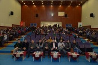 BILGE KAĞAN - AEÜ'de 'Türkçe'nin Ses Bayrakları' Konferansı Verildi