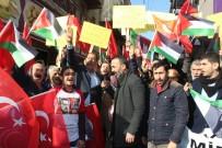 ŞEREFIYE - AK Ocaklar'dan Skandal Kudüs Kararına Protesto