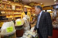 KAYAK MERKEZİ - Başkan Büyükkılıç Erciyes Dağı'ndaki Esnafı Ziyaret Etti