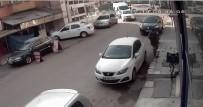 DOLANDıRıCıLıK - Çaldıkları Parayı Harcayamadan Yakalanan Hırsızlar Güvenlik Kamerasında