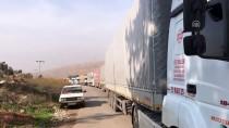 CİLVEGÖZÜ SINIR KAPISI - Cilvegözü Sınır Kapısı'nda Yoğunluk