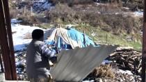 ALİ FUAT ATİK - Çöken Evde 3 Ferdi Ölen Ailenin Yarım Kalan İnşaatını Devlet Tamamlıyor