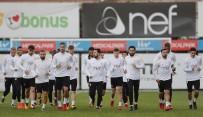 FLORYA METIN OKTAY TESISLERI - Galatasaray'da, Evkur Yeni Malatyaspor Mesaisi Sürdü