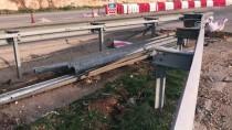 BEYKENT - Gaziantep'te Güvenlik Bariyeri Hırsızlığı